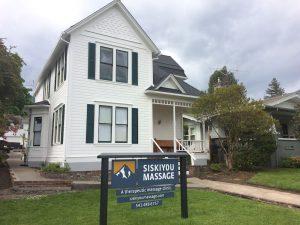 Exterior of Siskiyou Massage Center