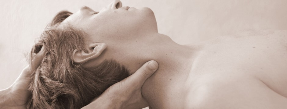 Image of massage therapy for whiplash and neck pain recovery